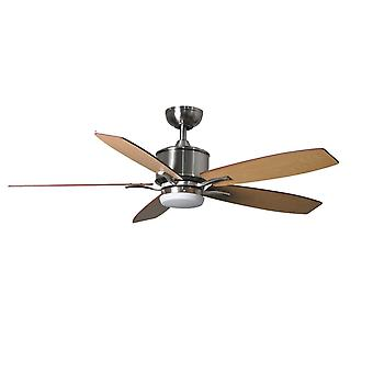 Ceiling Fan Prima Nickel with LED and Remote Control