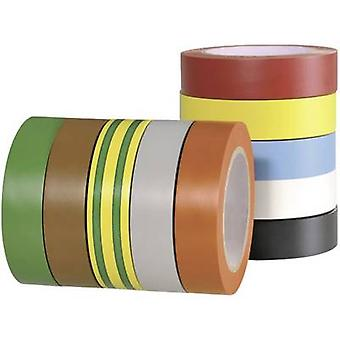 HellermannTyton 710-00146 Electrical tape HelaTape Flex 15 Red, Grey, Yellow, Green, Blue, Orange, White, Brown, Black,