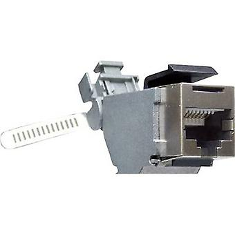RJ45 Connector CAT6. Socket, straight Number of pins: 8P8C Y-CONJACK-16
