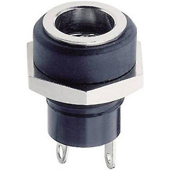 Lumberg 1614 10 Low power connector Socket, vertical vertical 5.7 mm 2.35 mm 1 pc(s)