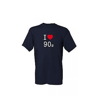 T-Shirt I love 90s S-4XL