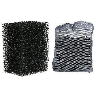 Trixie 2 & 1 Sponge Filter Activated Carbon Filter M 100