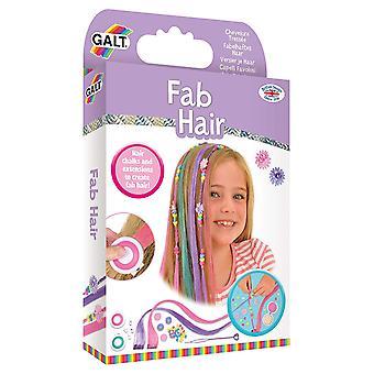 Pelo y extensiones de cabello Fab de juguetes Galt tiza Kit