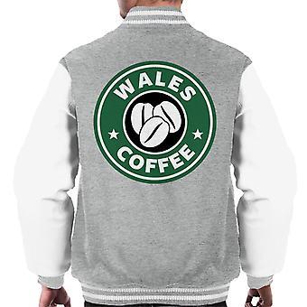 Wales Kaffee Starbucks Männer Varsity Jacket