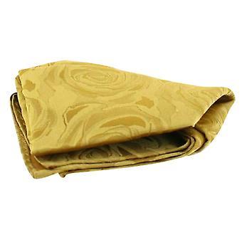 David Van Hagen Hochzeit Rose Silk Taschentuch - Gold