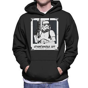 Moletom com capuz original Stormtrooper Retro quadro masculino