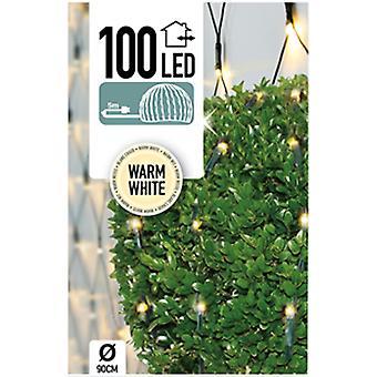 Buxus Netverlichting 100 LED's warm wit