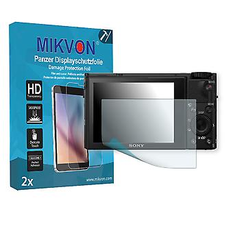 Sony Cyber-Shot DSC-RX100 IV Screen Protector - Mikvon Armor Screen Protector (Retail Package with accessories)