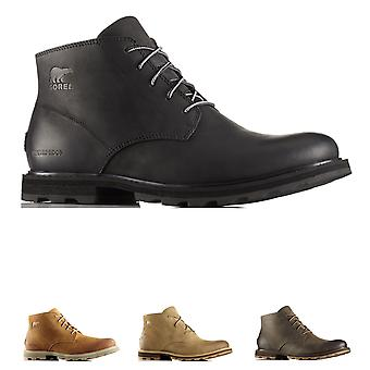 Mens Sorel Madson Chukka Leather Waterproof Winter Walking Ankle Boots