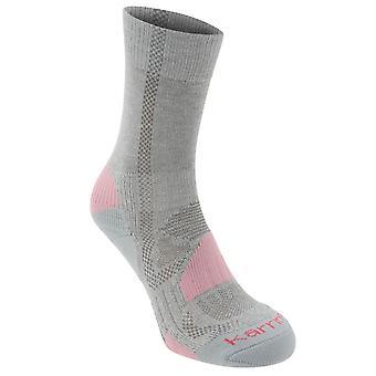 Karrimor Girls Walking Sock 2 Pack Junior Boot Socks Outdoor Moisture Wicking