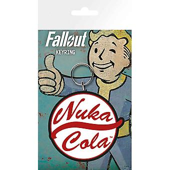 Fallout Keyring Nuka Cola Logo new Official PS4 Xbox Gamer Rubber