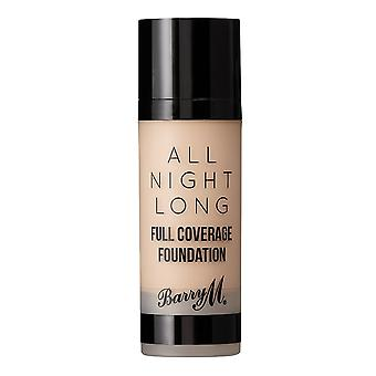 Barry M All Night Long Full Coverage Foundation - Milk