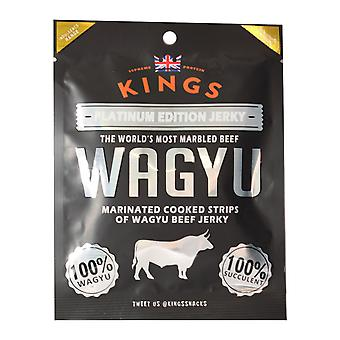 Kings Wagyu Beef Platinum Edition Jerky 25G Pack X8