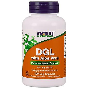 Now Foods DGL with Aloe Vera 100 vCapsules