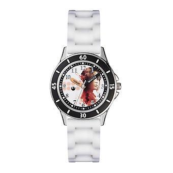 Childrens Kids Star Wars Rogue One Wrist Watch White Strap ROG3041