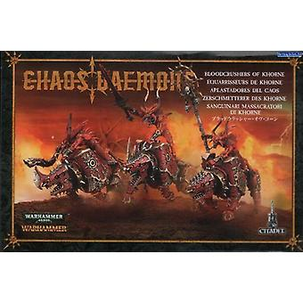 Games Workshop Warhammer 40.000 caos Daemons Bloodcrushers de Khorne