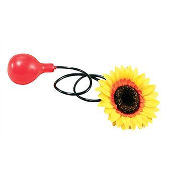 Vann sprøyting Sunflower.