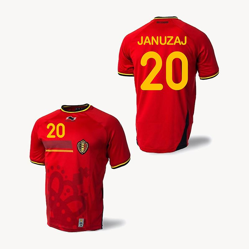 2014-15 Belgium World Cup Home Shirt (Januzaj 20) - Kids