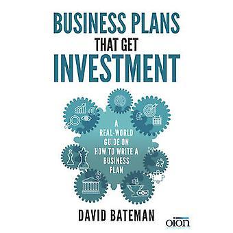 Business Plans That Get Investment by David Bateman - 9781785079320 B