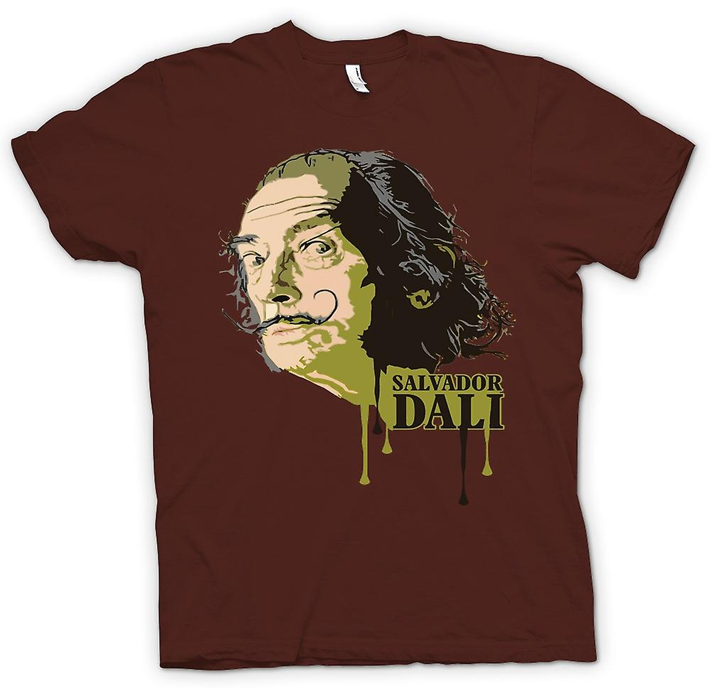 Mens T-shirt - Salvador Dali - Surreal - Artist