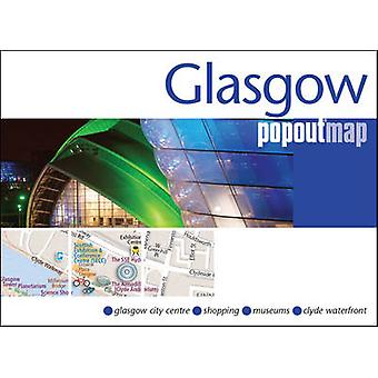 Glasgow PopOut Map by PopOut Maps - 9781910218372 Book