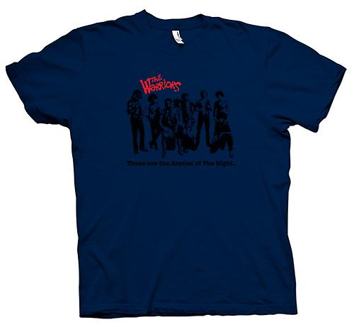 Mens t-shirt-le bande di guerrieri - New York-