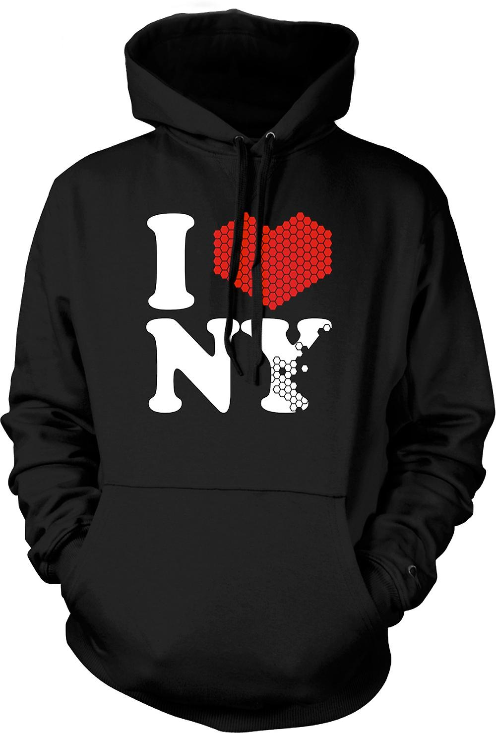 Kids Hoodie - I Love Heart New York - NY