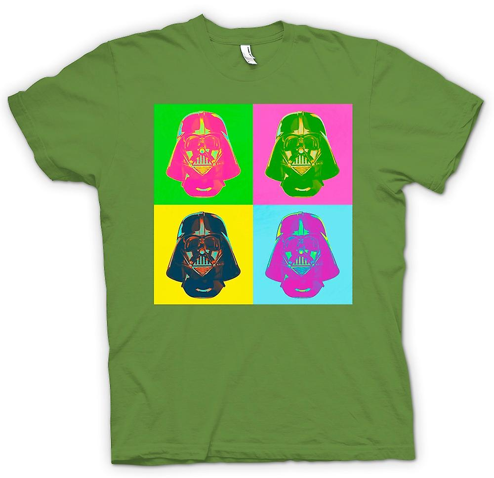 Mens t-skjorte - Darth Vader - Star Wars - Warhol