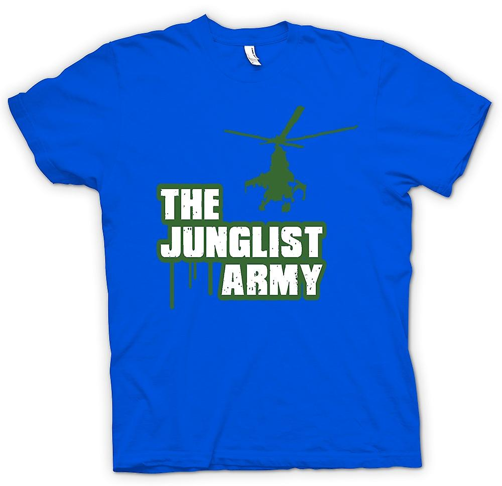Mens T-shirt - The Junglist Army - Drum n Bass