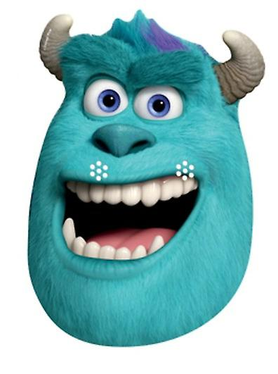 Sulley Party Card Face Mask (Monsters University)