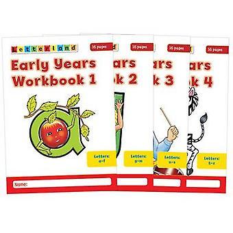 Early Years Workbooks - No. 1-4 (New edition) by Louis Fidge - Lyn Wen