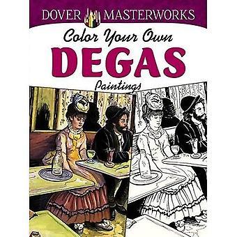 Dover Meisterwerke: Farbe eigene Degas-Gemälde