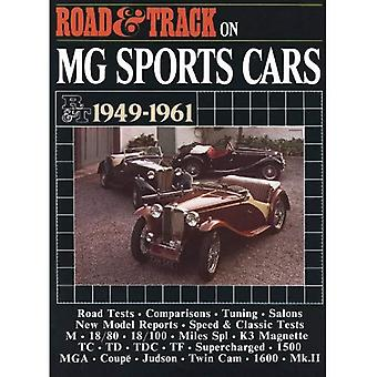 Road & Track op MG sportwagens 1949-1961 (Brooklands Road Books Tests serie)