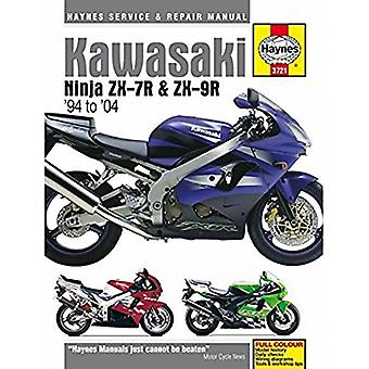 Kawasaki ZX7R Ninja Motorcycle Service and Repair Manual