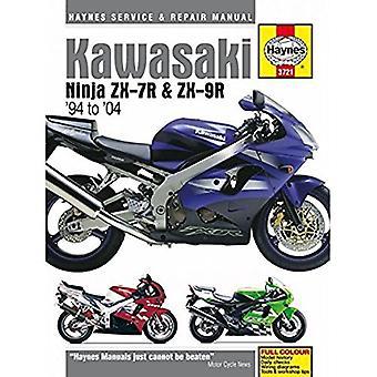 Kawasaki ZX7R Ninja Motorcycle Service en reparatie handleiding