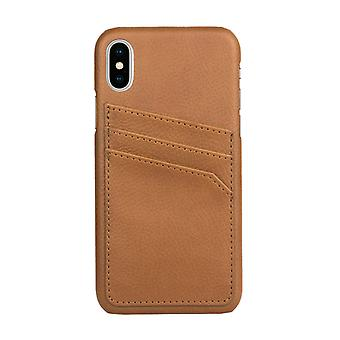 Leather-Case With Card Slots for iPhone X!