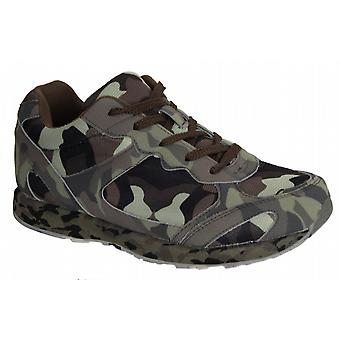 Waooh - Basket camouflage tendance pour femme Running