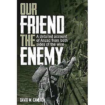 Our Friend the Enemy: A Detailed Account of Anzac from Both Sides of the Wire