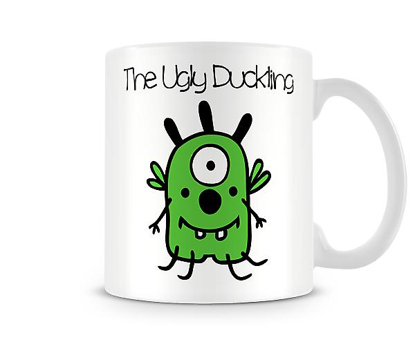 Decorative Writing The Ugly Duckling Printed Text Mug
