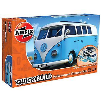 Airfix rápido construir VW Camper Van modelo Kit