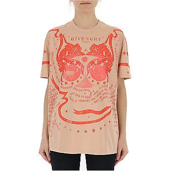 Givenchy Pink Cotton T-shirt