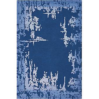 Simetría SMM02 rectángulo azul marino alfombras alfombras Funky