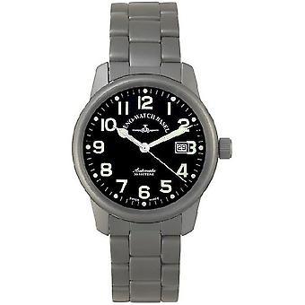 Zeno-Watch Herrenuhr Classic Titanium 7554-a1M