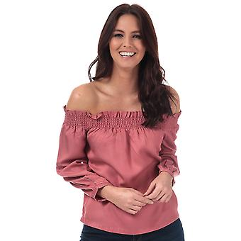 Womens Only Samantha Off Shoulder Top In Canyon Rose