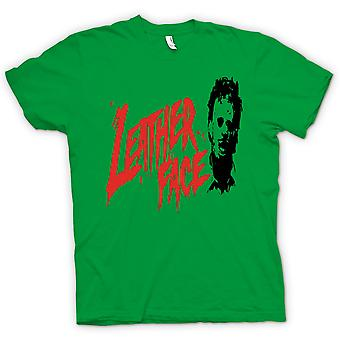 Kids T-shirt - Leather Face - Texas Chainsaw - Horror