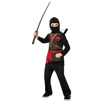 Black Ninja Stealth Assassin Japanese Asian Warrior Book Week Boys Costume