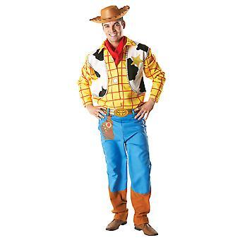 Volwassen Woody kostuum-Toy Story