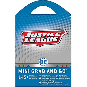 Grab and Go Stickers - Justice League Stationery - New st6027
