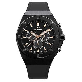 TW Steel | CEO Tech | Limited Edition | Chronograph | Black Rubber | CE4044 Watch