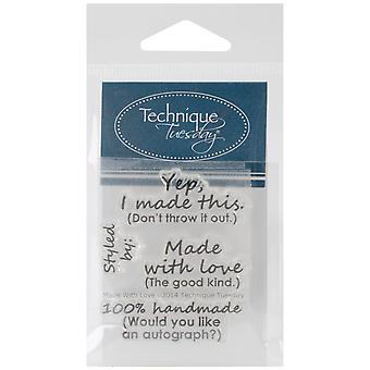 Technik Dienstag Clear Stamps 2
